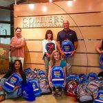 Colliers International- Las Vegas Donates School Supplies to Tanaka Elementary