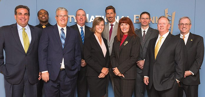 Banking executives recently met at the Las Vegas offices of City National Bank to discuss the health of their industry.