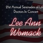 Award-winning country music singer and songwriter, Lee Ann Womack, joins the stage with local Southern Nevada medical community