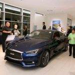 Park Place Infiniti this month celebrated the arrival of two of the newest Infiniti models to the dealership at 5555 W. Sahara Ave.
