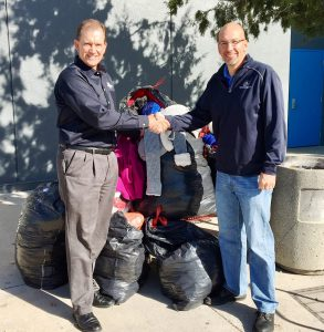 First Independent Bank customers, employees, and the general public, collected nearly 200 new coats for Northern Nevada children.