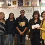 Henderson GiVe, a giving circle started by a dozen friends who wanted to give back to the community in an impactful way, recently presented Luanne Wagner.