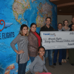 Miracle Flights is honored to be awarded a $25,000 donation from TeamHealth, the country's leading provider of outsourced hospital-based clinical.