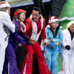 Join Local Celebrities in Supporting Opportunity Village During the Annual 'Las Vegas Great Santa Run' — Performances by Human Nature and the Opportunity Village OV Elvi —