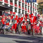 Thousands of Santa Claus Look-a-Likes Fill Downtown Las Vegas to Support Opportunity Village