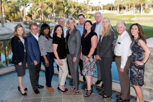 CALV leaders are pictured attending CALV's annual spring mixer in 2016.