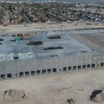 Dermody Properties announced that it reached a construction milestone with the tilt-up and placement of the first wall panels for its industrial facility.