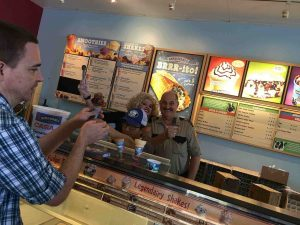 Ben & Jerry's Scoop Shops at the District at Green Valley Ranch and inside Sunset Station Hotel & Casino will offer Free Cone Day on April 4, 2017.