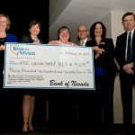 Four Southern Nevada nonprofit organizations providing legal services to those in need will share a $9,675 donation made by Bank of Nevada.