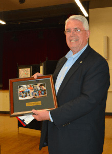 The Silver State Fair Housing Council awarded its SSFHC HEART Award on Wednesday to Nevada Rural Housing Authority Deputy Director Bill Brewer.