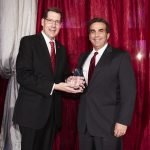 Bank of Nevada CEO John Guedry was awarded the Lee Business School Alumnus of the Year Award during a special ceremony honoring UNLV graduates.
