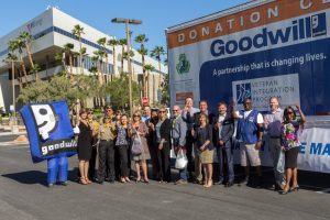 In honor of Military Appreciation Month, NV Energy will host a Goodwill donation location in the parking lot of its corporate offices