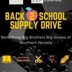 EV&A Architects is partnering with local non-profit Big Brothers Big Sisters of Southern Nevada for a back to school supply donation drive.