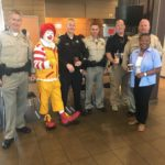 McDonald's Partners with Local Law Enforcement for Coffee with a Cop Event
