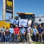Nevada's Safety Consultation and Training Section Presents Papé Machinery with Its Third Safety and Health Achievement Program Award