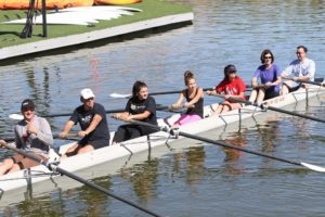 The Lake Las Vegas Rowing Club is recruiting athletes, ages 13 to 18, for its Junior Rowing Team. No experience is required.