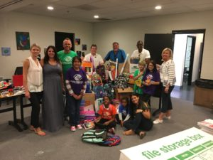 Local REALTORS® teamed up with Boys & Girls Clubs throughout the state to donate school supplies for students served by the clubs.