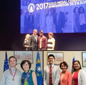 Coral Academy of Science Las Vegas, recently announced that three students from its College Leadership and Mentorship Program won 2017 Congressional Awards.