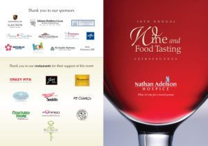 Nathan Adelson Hospice, is preparing for its 18th Annual Wine & Food Tasting Extravaganza, this benefits Pediatric Program and Families in Need Program.