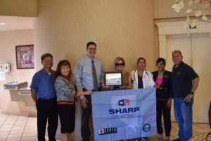 The SCATS of Nevada's Division of Industrial Relations recognized Royal Springs Healthcare and Rehabilitation located in Las Vegas, Nevada on Aug. 10