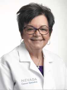 Nicoletta Campagna, a certified NP joins Nevada Cancer Specialists (4750 W. Oakey Blvd) and specializes in oncology and hematology.