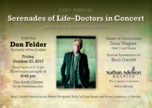 The former lead guitarist from The Eagles, Don Felder, will be joining the stage with talented Southern Nevada medical community members this fall.