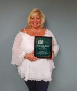The Nevada Rural Housing Authority (NRHA) awarded Shaun Bittick, senior loan officer at Summit Funding Inc. in Reno, the prestigious Centennial Award