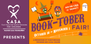 Barnes & Noble Hosts Book-tober Fair to Benefit Washoe CASA Foundation, to raise funds benefiting foster care children in Washoe County.