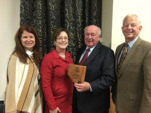Dan Shaw was awarded the Nevada Chapter of the American Planning Association's DeBoer Award for Distinguished Leadership as a Citizen Planner