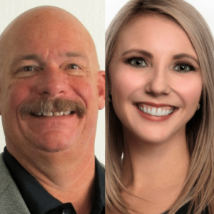 Erich Schmitt and Katie Silva have been elected to the board of NCET, a non-profit that produces networking events to help explore technology.