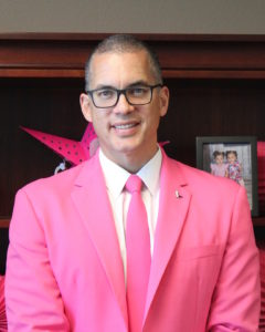 Craig Kirkland, executive vice president at Nevada State Bank, raised more than $6,000 last month to help fight breast cancer.