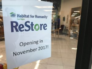Habitat for Humanity will offer Las Vegans the opportunity to affordably furnish a home while giving others in the community the opportunity to own a home.