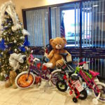 Nevada State Bank is collecting new, unwrapped children's toys and bikes from Nov. 20 to Dec. 6 to support the CBS radio station's efforts.