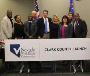 On November 14, 2017 Clark County, Nevada leaders officially launched an initiative to become a certified ACT Work Ready Community.