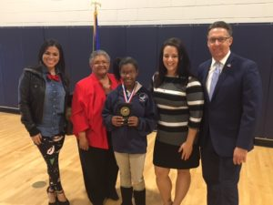 Legacy Traditional School – North Valley, is proud to announce Ivoryonna Jamerson has won the school's very first spelling bee.
