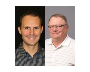 Matt Brown and Jock Ochiltree have been re-elected to the board of directors of NCET, a member-supported non-profit that produces educational.