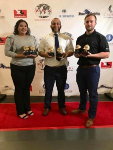 Hirschi Masonry, a premier masonry contractor in southern Nevada, accepted six awards at the second annual World Wide Safety Awards that recognizes construction organizations who excel at safety performance.