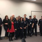 """In December, Care Flight awarded 20 of its critical care medical team members with recognition for advanced study, skills and achievements. They earned their """"wings."""""""
