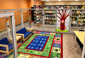 Vegas PBS unveiled a new children's area in its Described and Captioned Media Center library that offers free resources for blind, deaf and special needs.