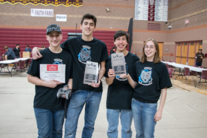 Tronox, a manufacturing plant in Henderson recently donated $5,000 to benefit students in the robotics club at Basic Academy of International Studies.