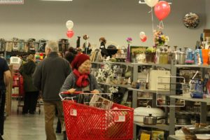 The Salvation Army cut the ribbon and opened the doors to its new Family Store at 3320 Research Way in Carson City Thursday morning.