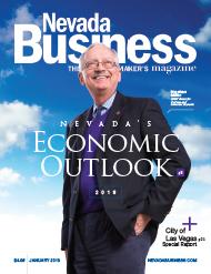 Nevada's Economic Outlook: 2018 Blue Skies Ahead
