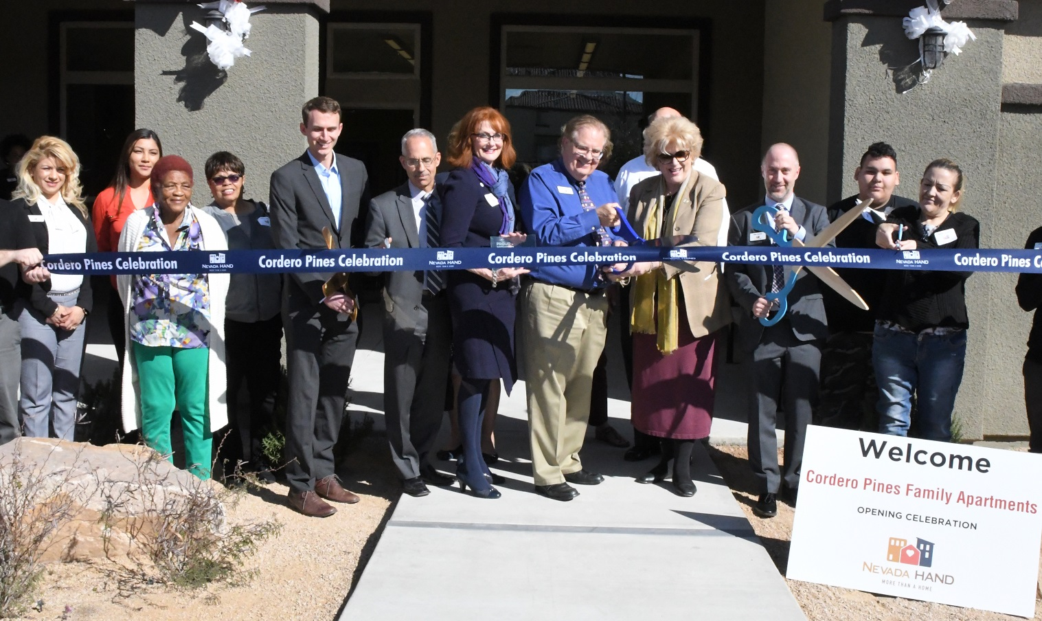 new affordable apartment community for working families celebrated