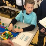 Visually Impaired Students Compete in LEGO Robotics Competition — NBCF elementary and teen teams showcased robots, earned awards