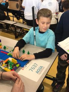 Two teams from Nevada Blind Children's Foundation (NBCF) were recognized for their entries at the FIRST LEGO Expo robotics competition. The NBCF teams competed against sighted teams of elementary and high school students from local schools and clubs.