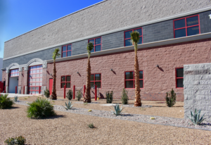 Hirschi Masonry, a premier masonry contractor based in southern Nevada, is proud to announce the completion of work at Firetrucks Unlimited.