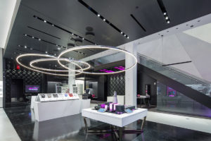 Shawn Danoski, CEO of Las Vegas-based DC Building Group, announced the general contractor has completed the build of T-Mobile's new signature store in the Showcase Mall on the Las Vegas Strip.