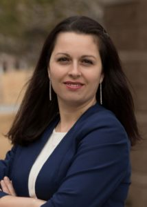 Nevada State Bank has promoted Alina Ceballos to assistant vice president and branch manager of the West Wendover branch located at 1855 W. Wendover Blvd. inside the Smith's Food and Drug store.