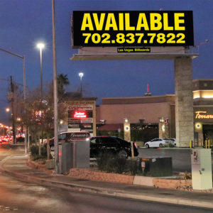 Las Vegas Billboards LLC (LVB) acquired two high-profile billboards for an undisclosed price, giving it 20 digital billboard faces to complement its traditional static inventory.
