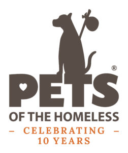 The week of August 5-12, 2018 is the ninth national Pets of the Homeless Give a Dog a Bone week. Across the country, more than 470 member collection sites for Pets of the Homeless will be asking the community to bring donations of pet food and supplies to their neighborhood participating donation sites.